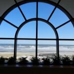 Blick aus Café Hilton