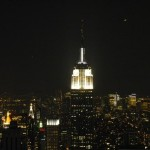Empire vom Top of the Rock