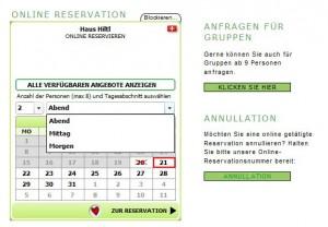 Reservation-Hiltl
