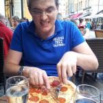 Endlich wieder mal Pizza