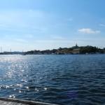 Sicht auf Stockholm