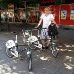 Stefan mit SvD City Bikes
