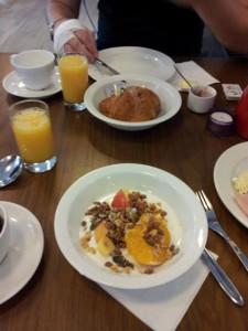 Frühstück Hotel Andersen
