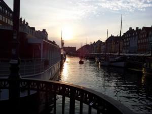 Sonnenuntergang Kopenhagen