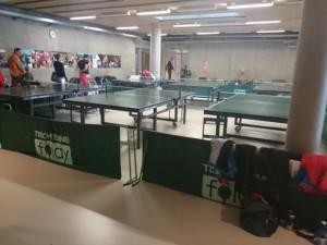 Tischtennis-Raum