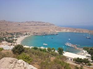 Bucht von Lindos