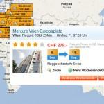 Spontan am Wochenende weg – Ebookers.ch mit Weekend Map machts möglich