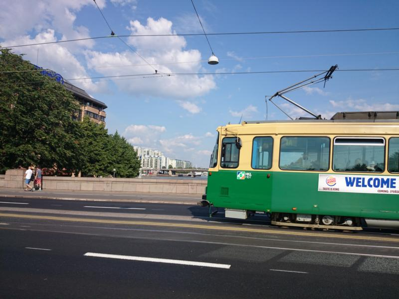 Tram Helsinki