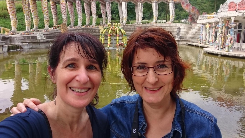 Bruno-Weber-Park-mit Sonja